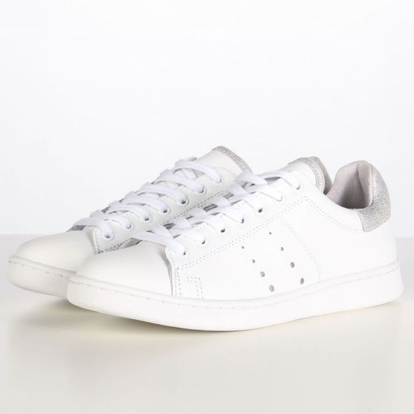 Tango Shoes Sneaker Anna 317 Ca Wit/Zilver