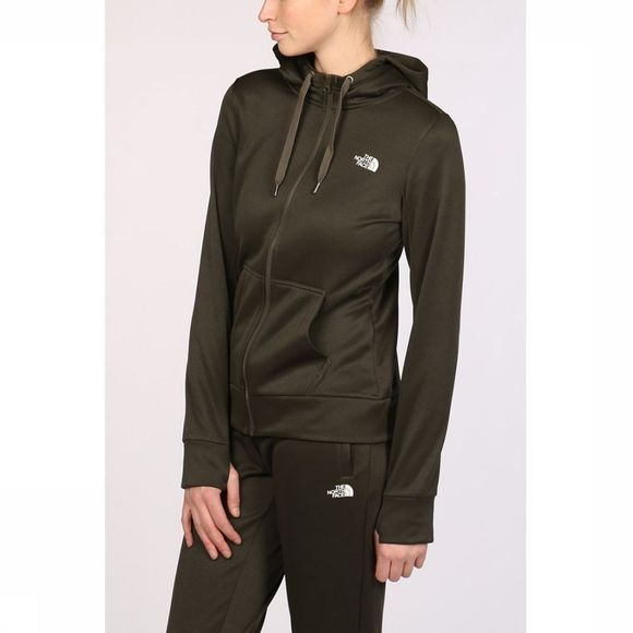 The North Face Pull Surgent Full Zip Hoodie Vert