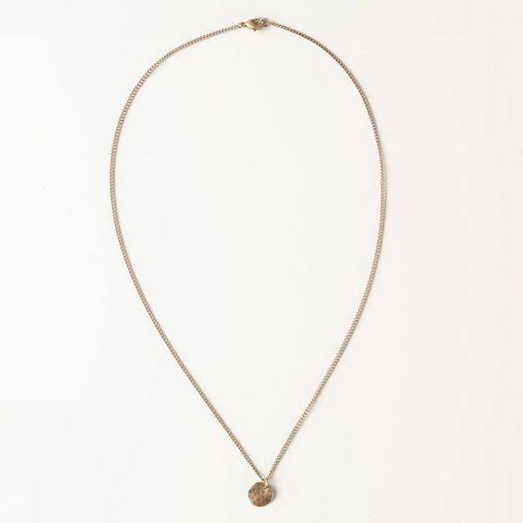 Yaya Ketting Necklace With Coin Goud