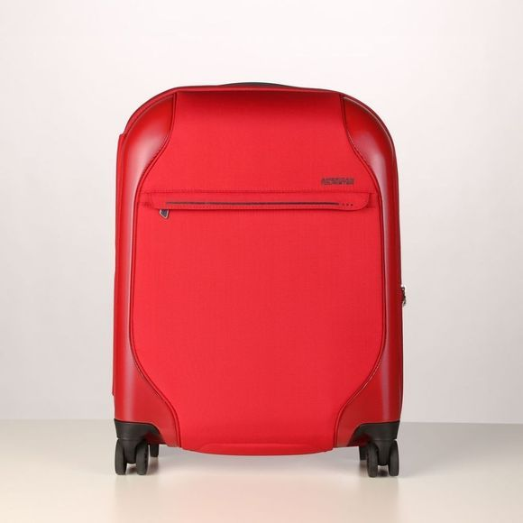 American Tourister Bagage À Main Skyglider Spinner 55/20 Rouge Moyen