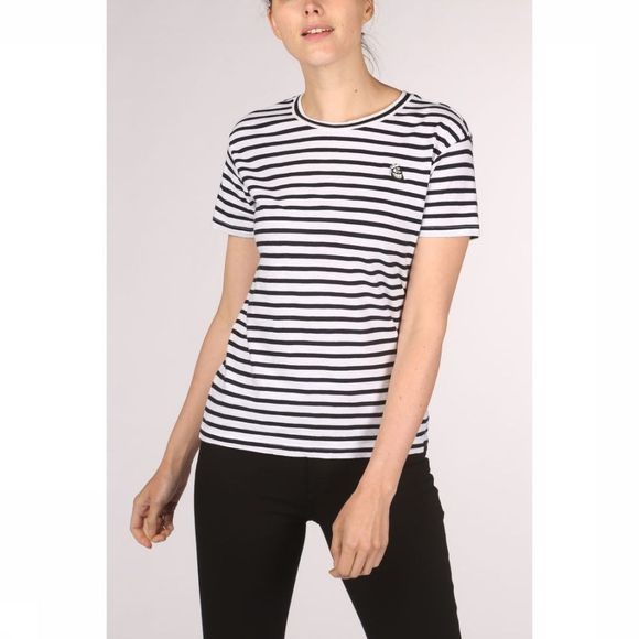 Maison Scotch T-Shirt 150699 Zwart/Wit