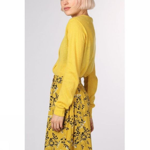 Soft Rebels Cardigan Rise Jaune Moyen
