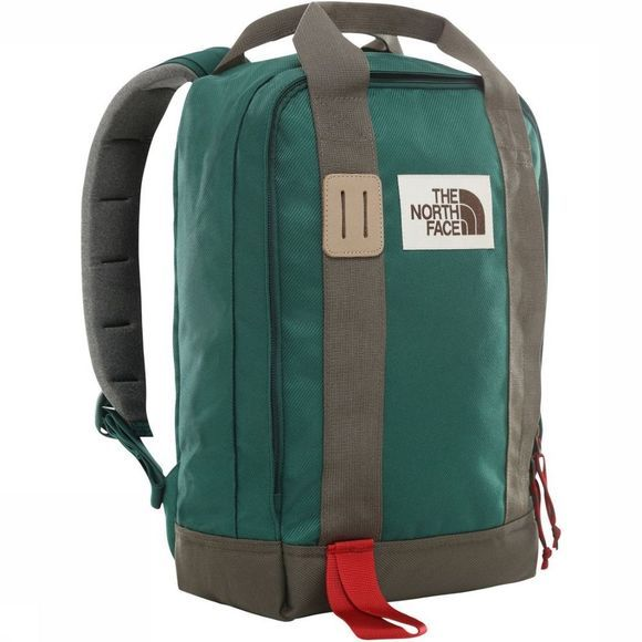 The North Face Sac À Dos Tote Pack Vert Foncé