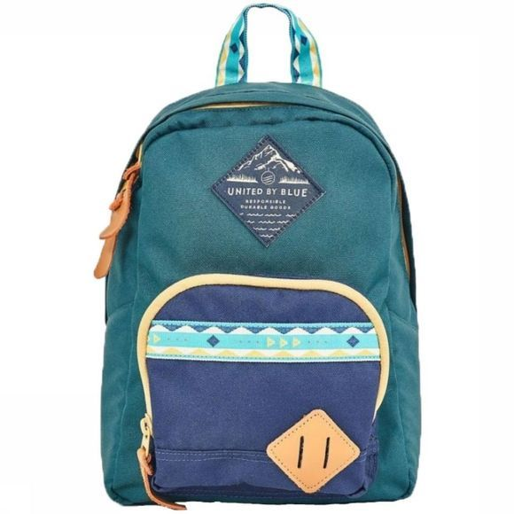 United by Blue Dagrugzak Whittier Backpack Donkergroen/Donkerblauw