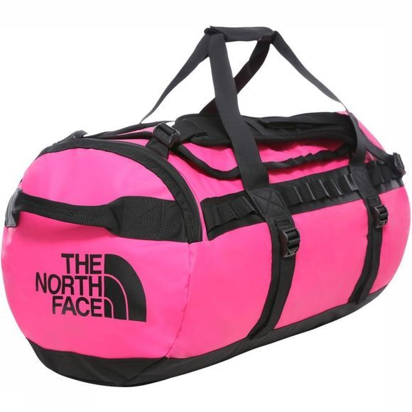 The North Face Travel Bag Base Camp Duffel M/71L mid pink/black