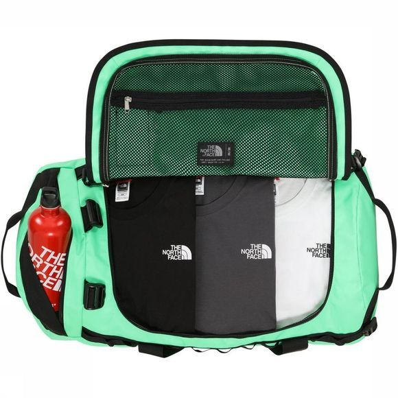 The North Face Travel Bag Base Camp Duffel M/71L light green/black