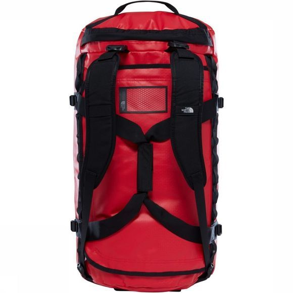 The North Face Reistas Base Camp Duffel L/95L Middenrood/Zwart