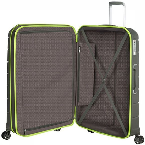 Samsonite Trolley Flux Spinner 75 Donkergroen
