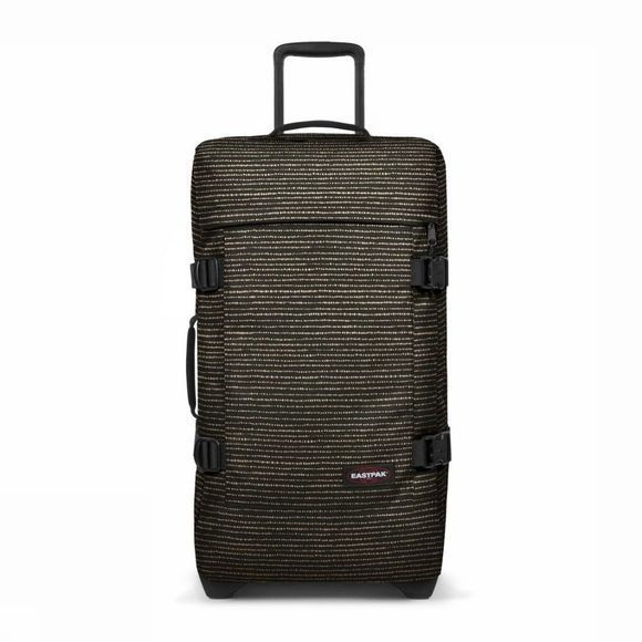 Eastpak Suitcase Tranverz M black/gold