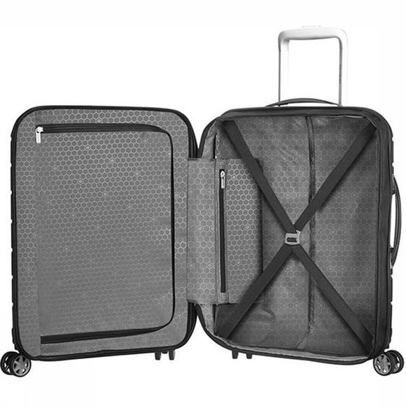 Samsonite Bagage À Main Flux Spinner 55 Noir