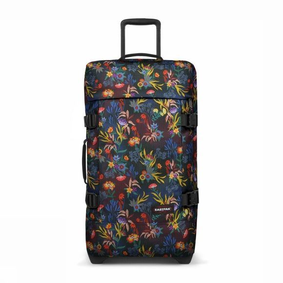 Eastpak Cabin Luggage Tranverz S dark blue/Assortment Flower
