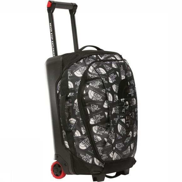 The North Face Trolley Rolling Thunder 22 Noir/Gris Clair