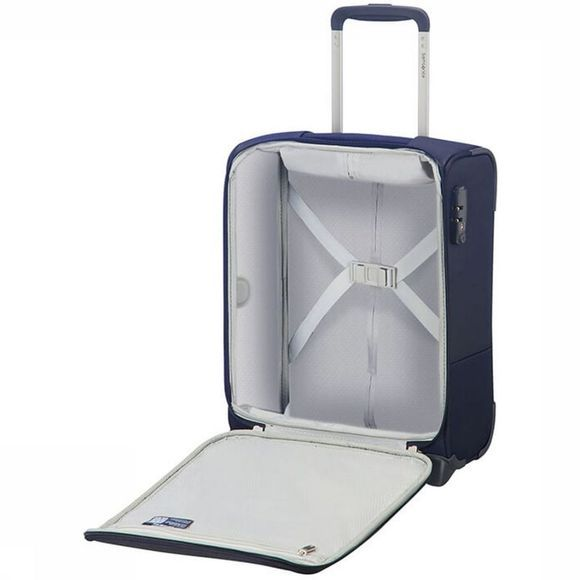 Samsonite Bagage À Main Base Boost Upright 45 Underseater Bleu Foncé