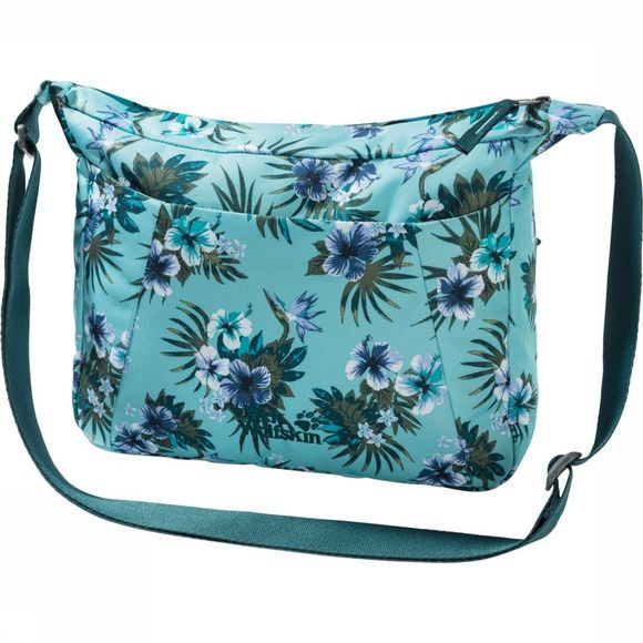 Jack Wolfskin Shoulder Bag Valparaiso Turquoise/Assortment Flower