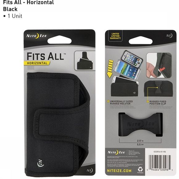 Nite Ize Gsm Tas Of Gps Tas Fits All Holster Horizontal Zwart
