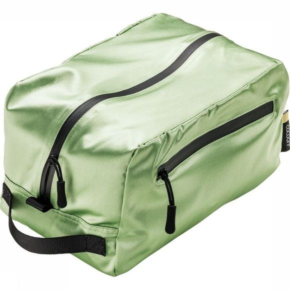 Cocoon Wash Bag Toiletry Kit Cube Silk light green