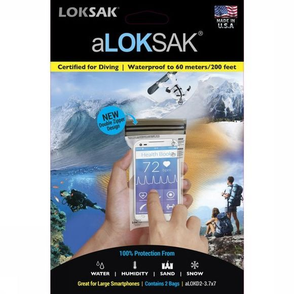 Loksak Waterproof Bag 8,57 x 15,88 cm No Colour