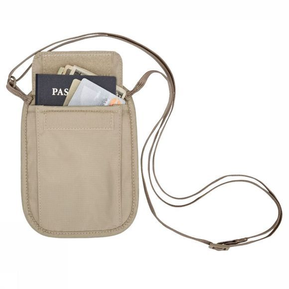 Eagle Creek Portefeuille Rfid Blocker Neck Wallet Brun Clair