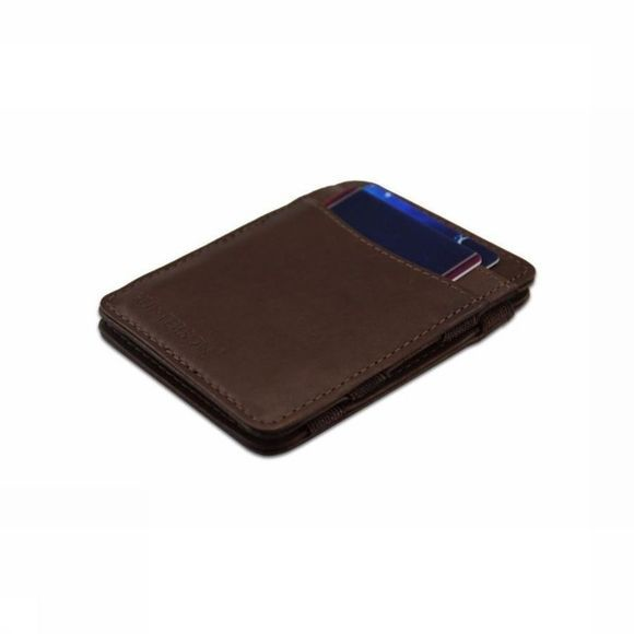 Hunterson Portefeuille Leather RFID Magic Wallet Bruin