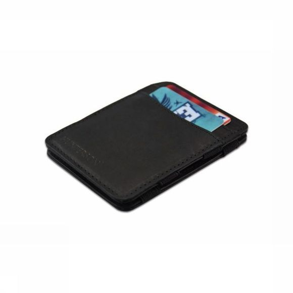 Hunterson Portefeuille Leather RFID Magic Wallet Zwart
