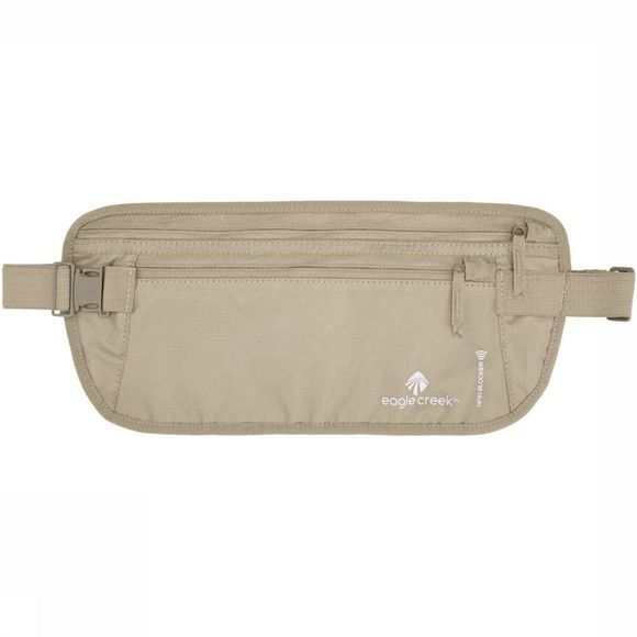 Eagle Creek Security Bag RFID Blocker Money Belt Dlx sand