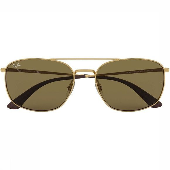 Ray-Ban Bril Rb3654 Goud/Donkerbruin