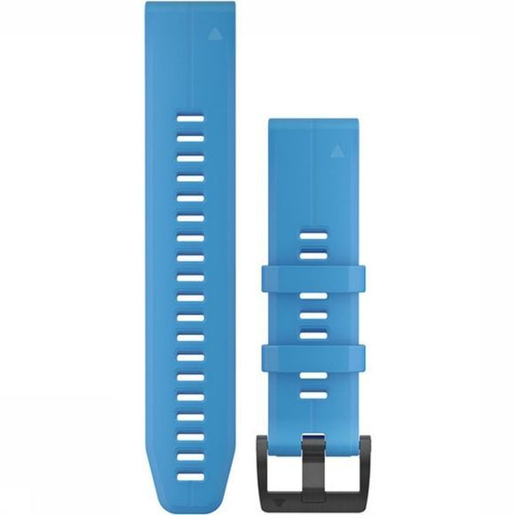 Garmin GPS Acc Quickfit 22 Watch Band Cyan Blue Silicone Bleu Moyen