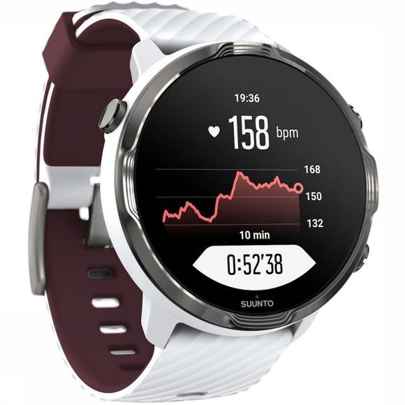 Suunto 7 White Burgundy Wit/Bordeaux