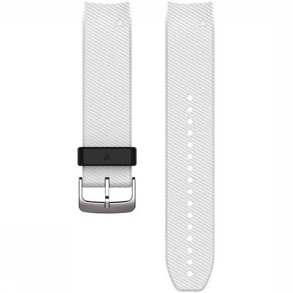 Garmin Sport Quickfit 22 Watch Bands (Approach S60) Silicone white