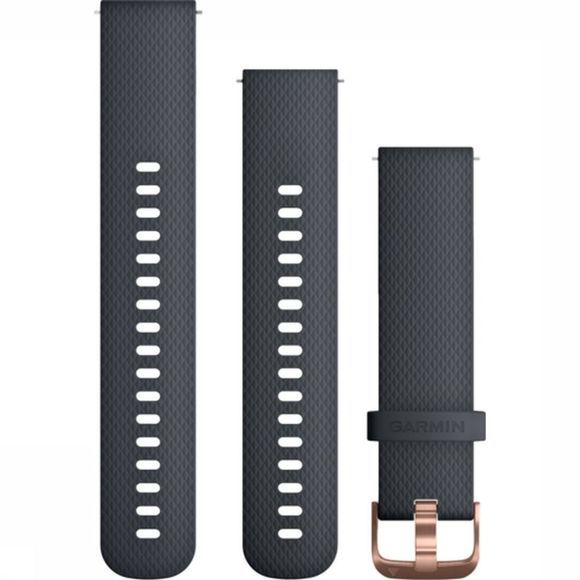 Garmin SportQuick Release Band Granite Blue/Rose-Gold Petrol/Lichtroze