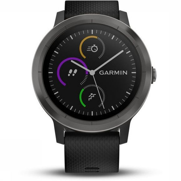 Garmin Activity Tracker Vivoactive 3 Zwart/Med Zwart