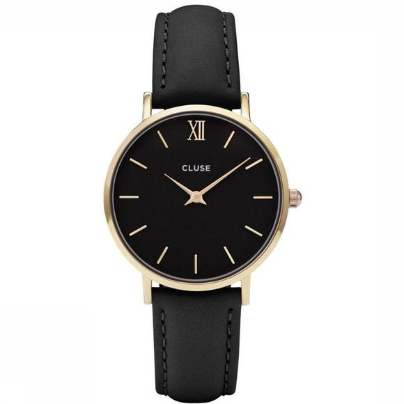 Cluse Watch Minuit black