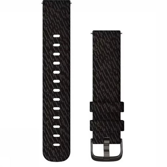 Garmin Watch Strap Met Snelwisselsluiting 20Mm Nylon black/dark grey