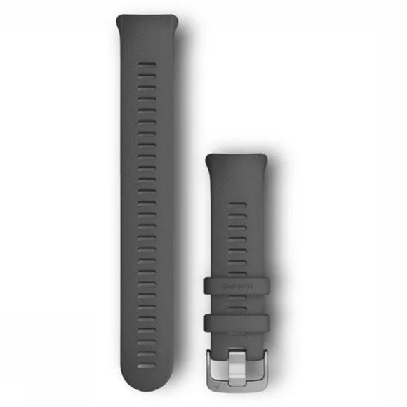 Garmin Horlogebandje Watch Bands Swim 2 Large Donkergrijs