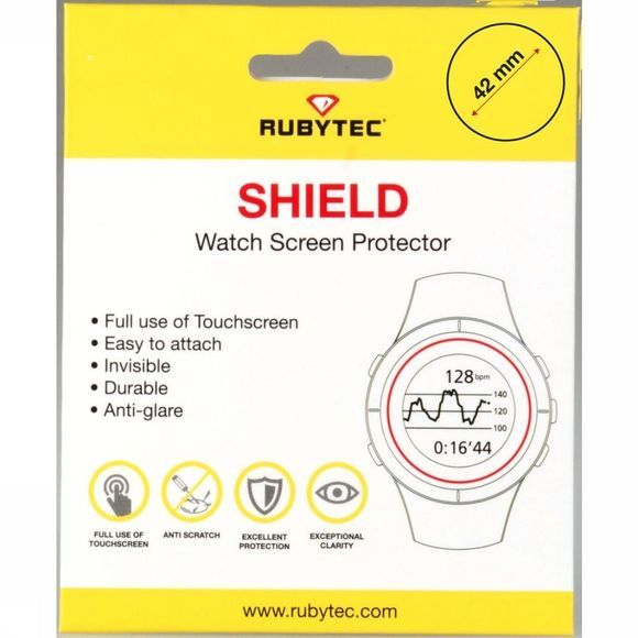 Rubytec Diverse Shield 42 mm Watch Screen Protector Geen kleur