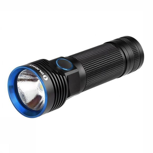 Olight Zaklamp R50 Pro Seeker Rechargeable Zwart/Middenblauw