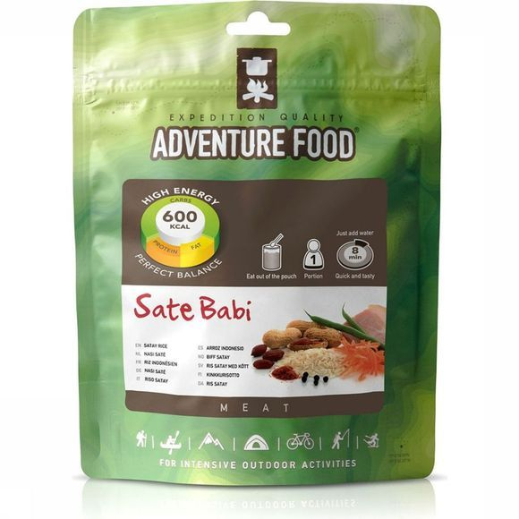 Adventure Food Meal Sate Babi 1P No Colour