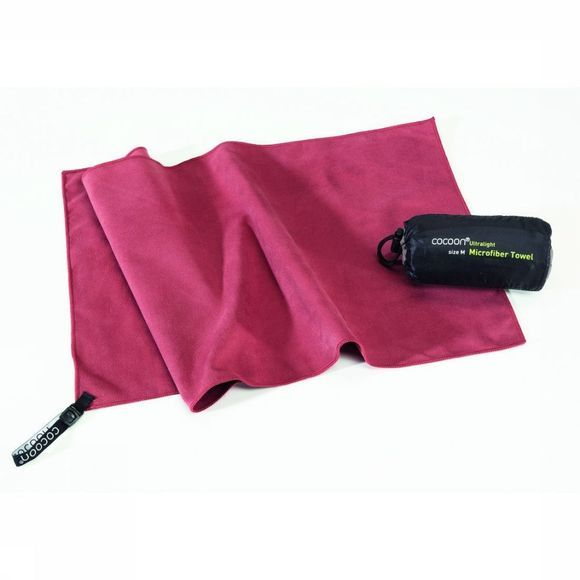 Cocoon Serviette  Towel Ultralight Rouge