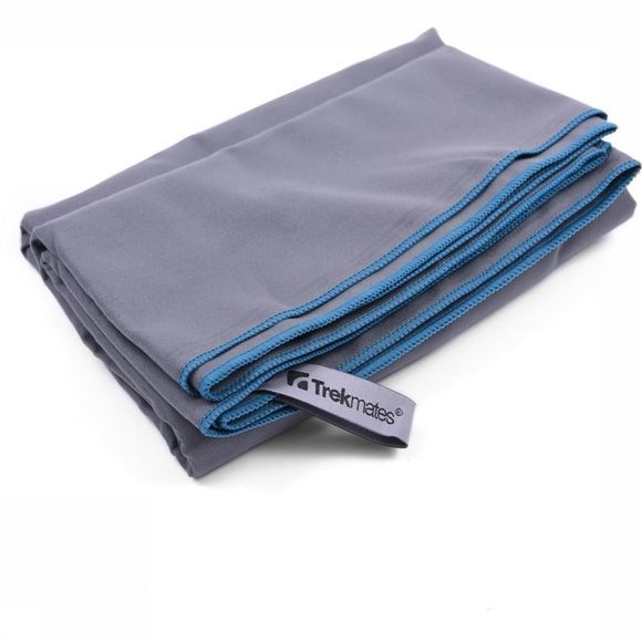 Trekmates Serviette  Travel Towel - Hair 45X105 Gris Moyen