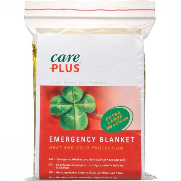 Care Plus First Aid Emergency Blanket No Colour