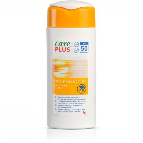 Care Plus Zonnebescherming Outdoor & Sea 100ml Geen kleur