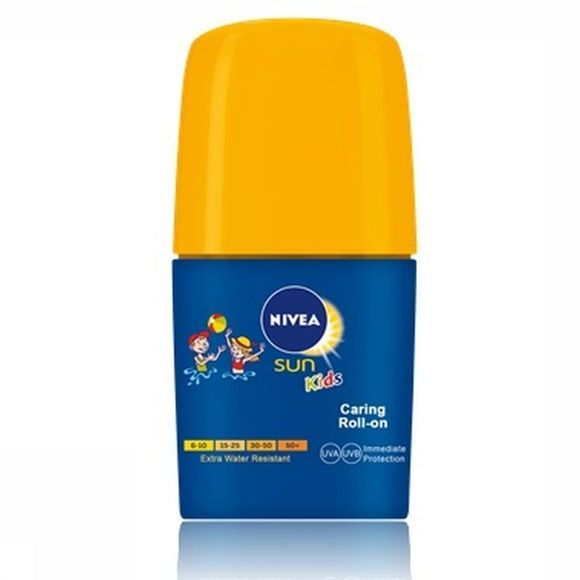 Nivea Sun Protection Spf50+ 50Ml Kids Roll On No Colour