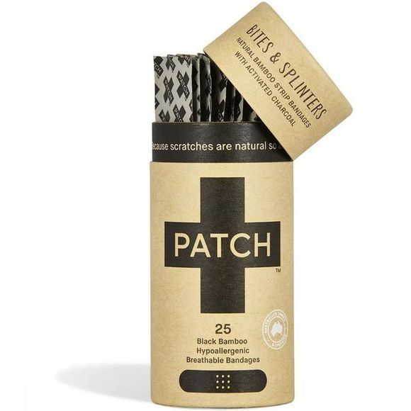 Patch EHBO-Kit Activated Charcoal Adhesive Strips Pas de couleur