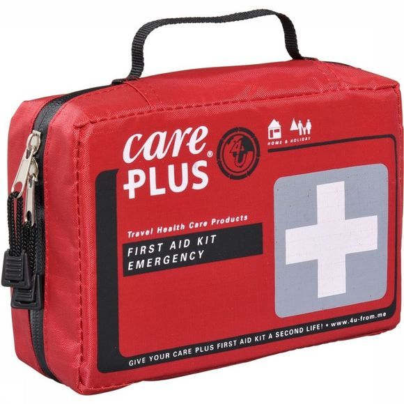 Care Plus First Aid Kit Emergency No Colour