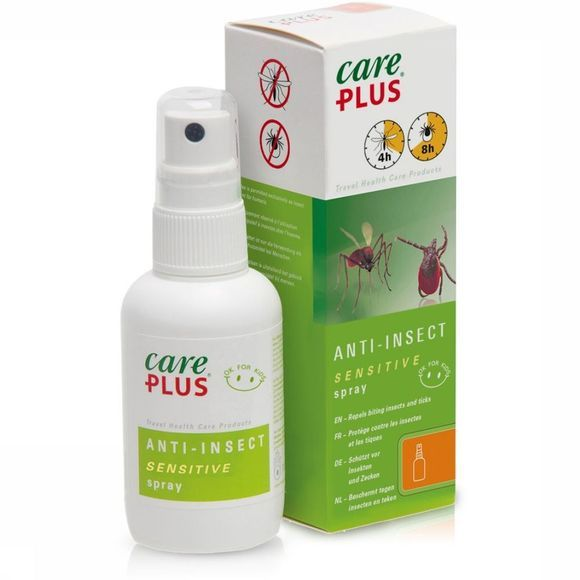 Care Plus Anti-insect Spray Sensitive Icaridine 12,5% 60ml No Colour