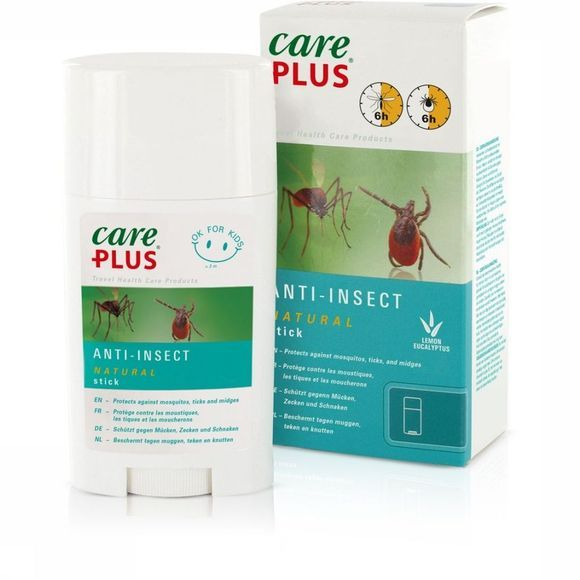 Care Plus Insectenwering Stick Natural 50ml Geen kleur