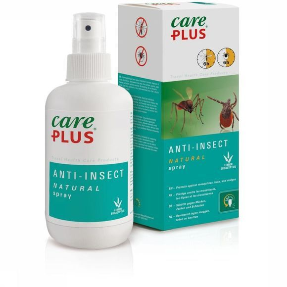 Care Plus Insectenwering Natural Spray 200Ml Geen kleur
