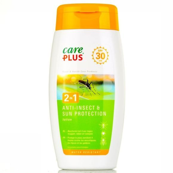 Care Plus Insectenwering 2 in 1 Anti-Insect Sun Prot. Spray SPF30 150ml Geen kleur