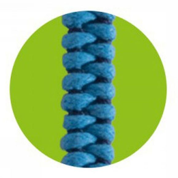 Mosquitno Anti-Insectes Woven Bracelet Citriodiol Bleu Clair