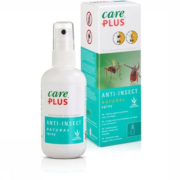 Care Plus Insectenwering Spray Natural 100ml Geen kleur